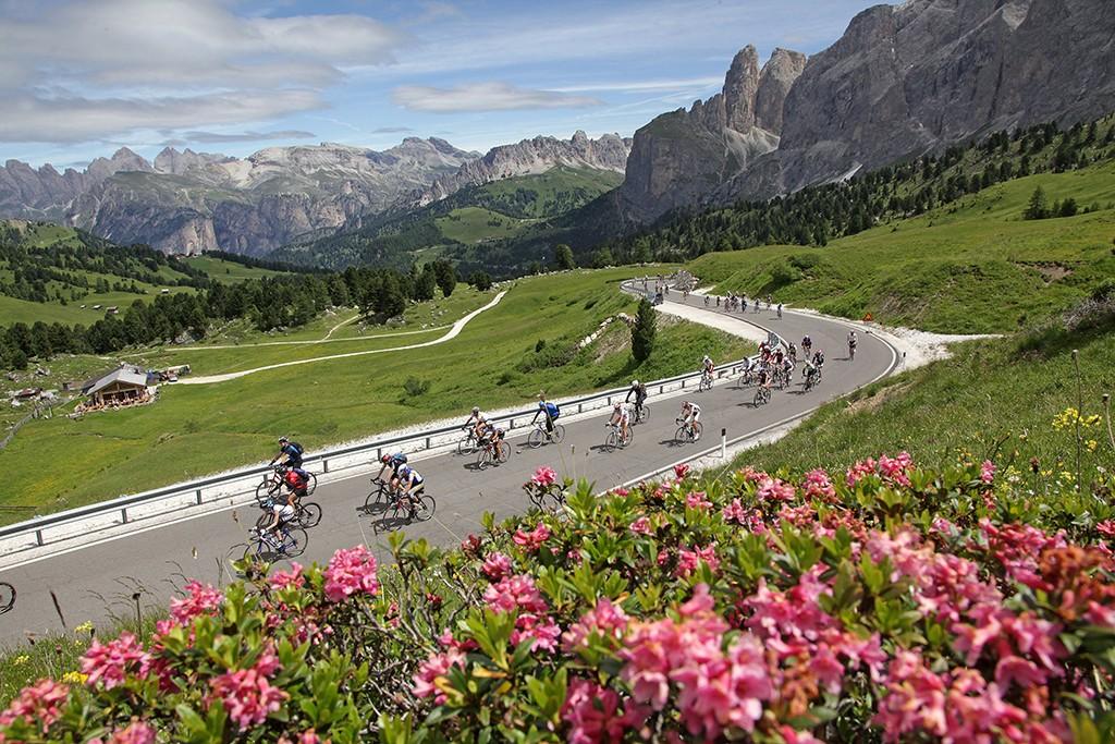 Südtirol Grödener Joch Rennrad